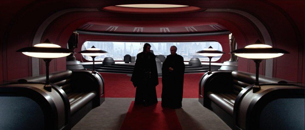 Anakin and Palpatine