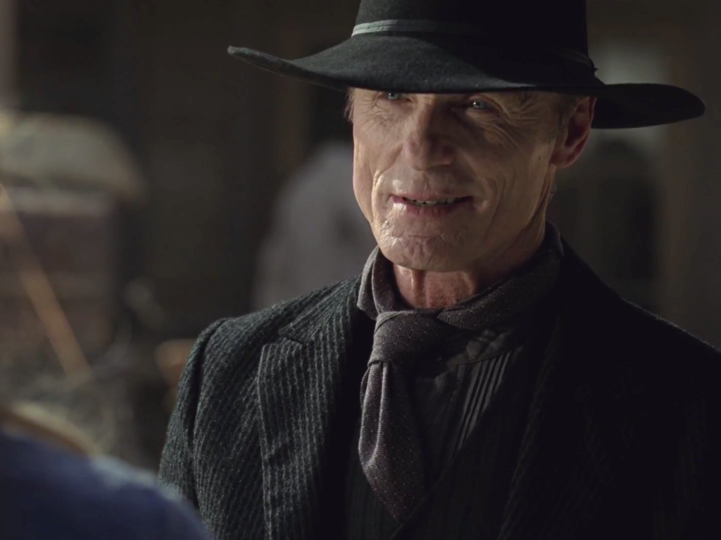Westworld Ed Harris Man in Black