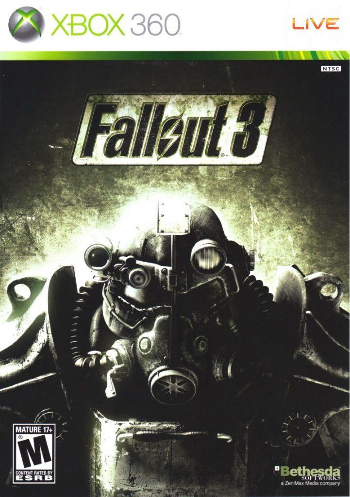 Fallout 3 Xbox 360 cover art