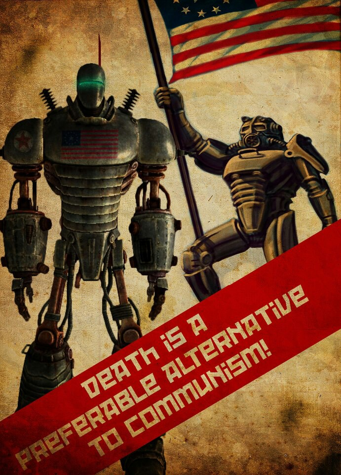 Fallout Communism poster