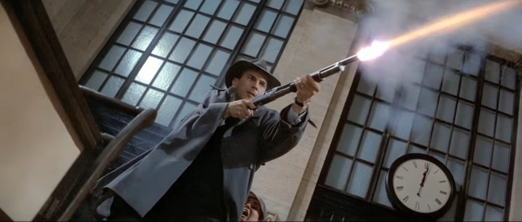 Kevin Costner as Eliot Ness