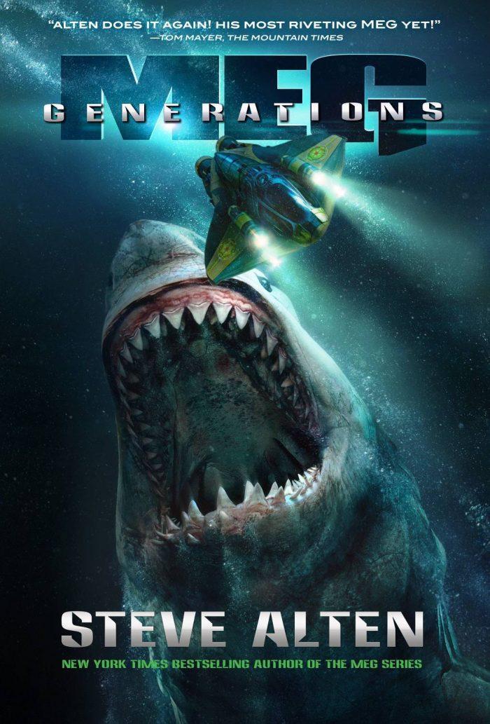 The Meg sequel book cover