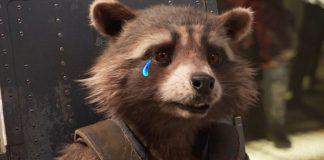 Rocket Raccoon Crying