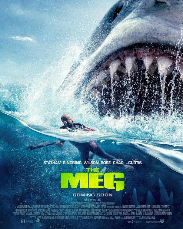 New Japanese Trailer & Posters For THE MEG Are Bonkers ⋆ Film Goblin