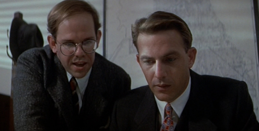 Charles Martin Smith and Kevin Costner