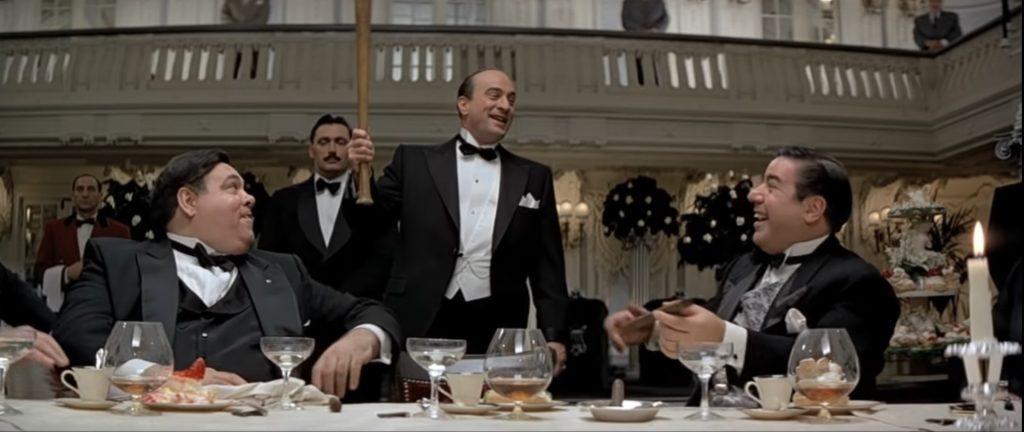 Robert De Niro as Al Capone