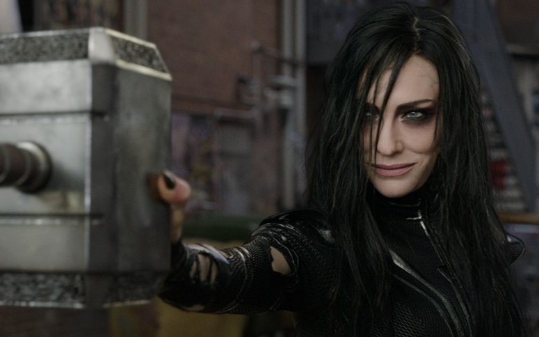 Cate Blanchett as Hela