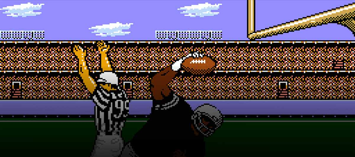 tecmo super bowl 2019 has updated rosters gameplay w old school feel film goblin. Black Bedroom Furniture Sets. Home Design Ideas