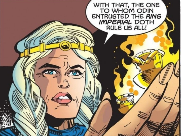 Freyja Marvel Comics