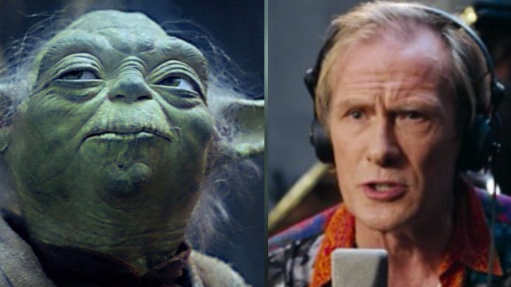 Yoda and Billy Mack
