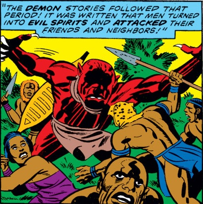 Wakandan demon spirit