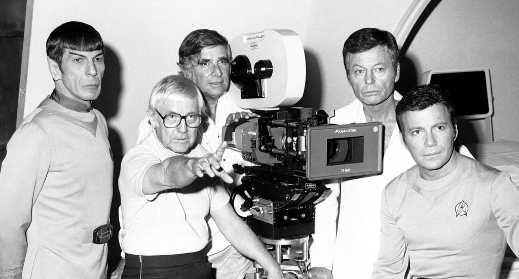 Robert Wise and Gene Roddenberry