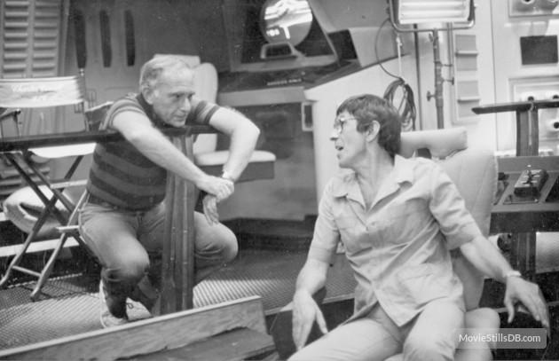 Harve Bennett and Leonard Nimoy