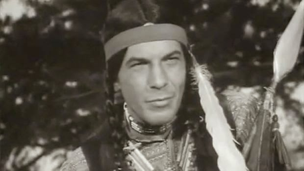 Leonard Nimoy as a Native American