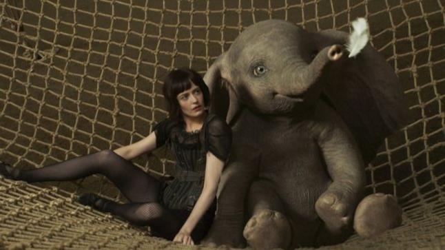 Eva Green and Dumbo