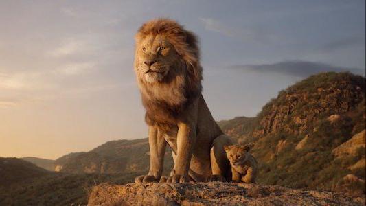 Mufasa and Simba