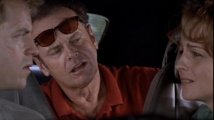Jack Nicholson as Melvin Udall