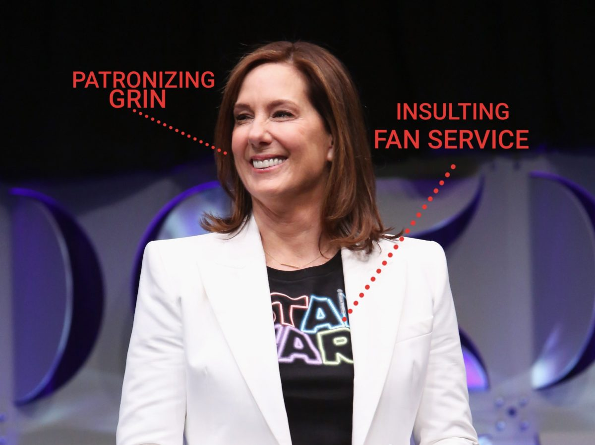 Kathleen Kennedy Analysis Liar Liar Star Wars On Fire Film Goblin