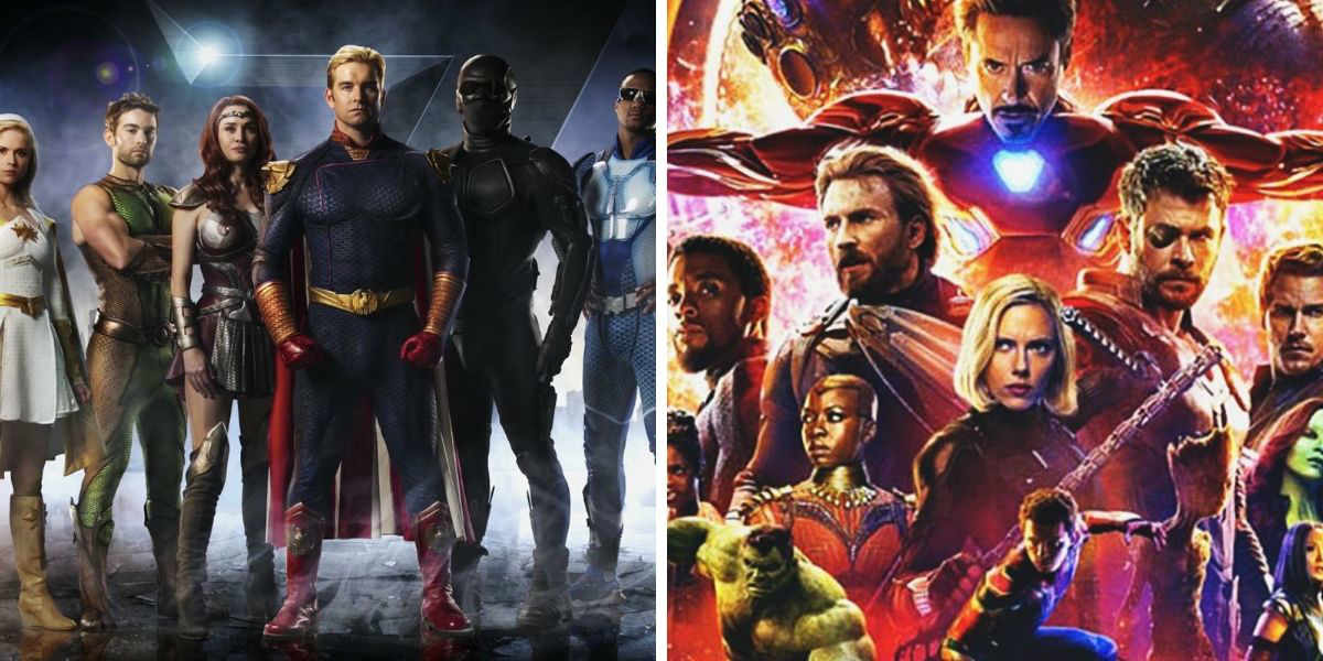 THE BOYS & The MCU: Superhero Storytelling In The 21st Century