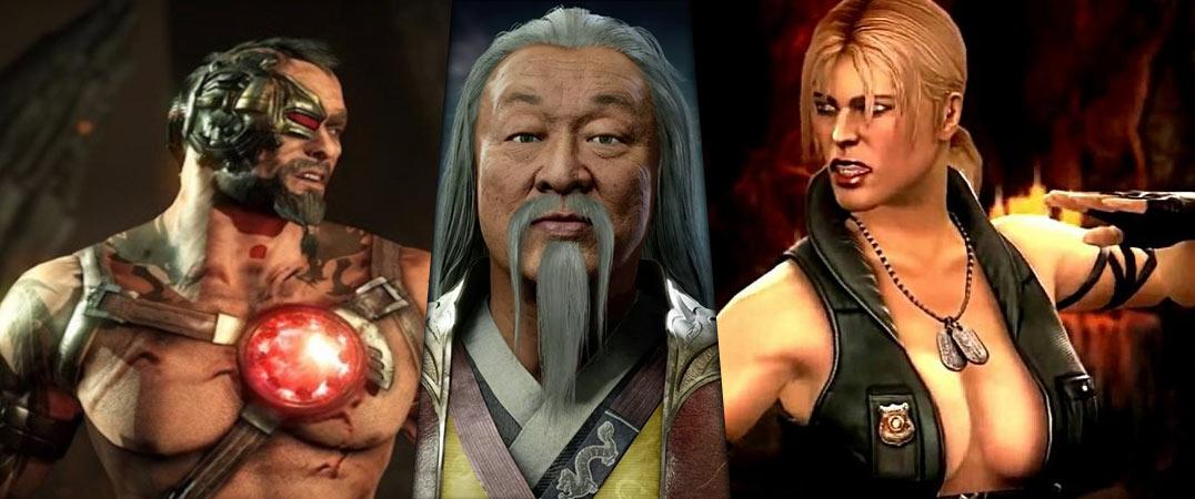 Sonya Blade Shang Tsung Kano Cast For Mortal Kombat